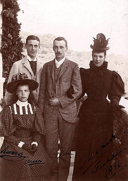 423px-The_Romanov_Family_in_Southwestern_Georgia_(then_Russian_Empire)