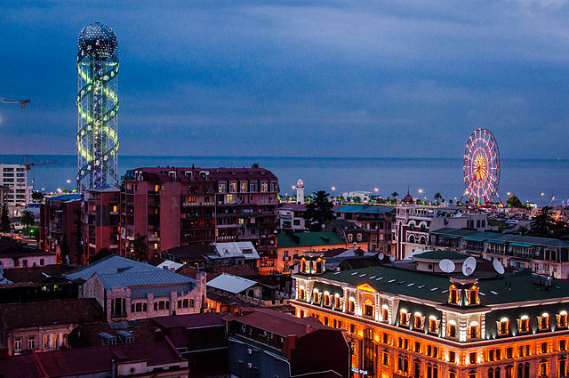Batumi_2014_at_night