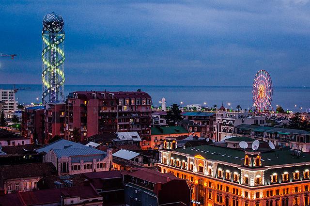 Batumi_2014_at_night