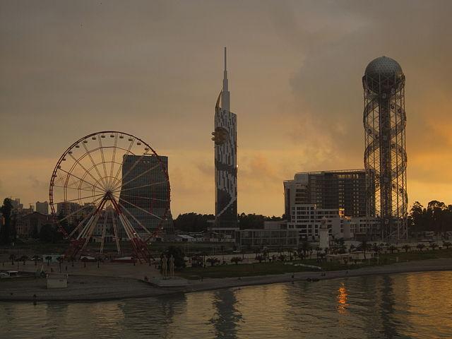 Batumi_skyline_from_port