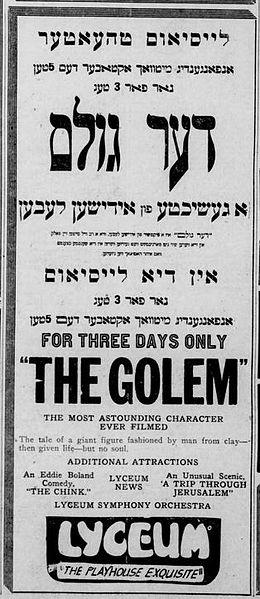 The_Golem_(1920)_-_Ad_1
