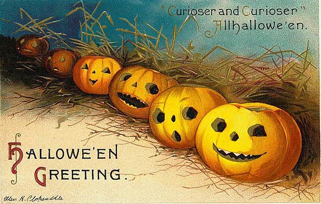 Vintage Halloween Postcards (1)