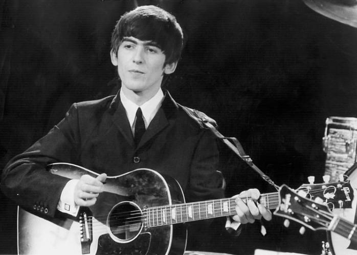 George Harrison through the years.