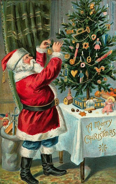 Vintage Christmas Card010