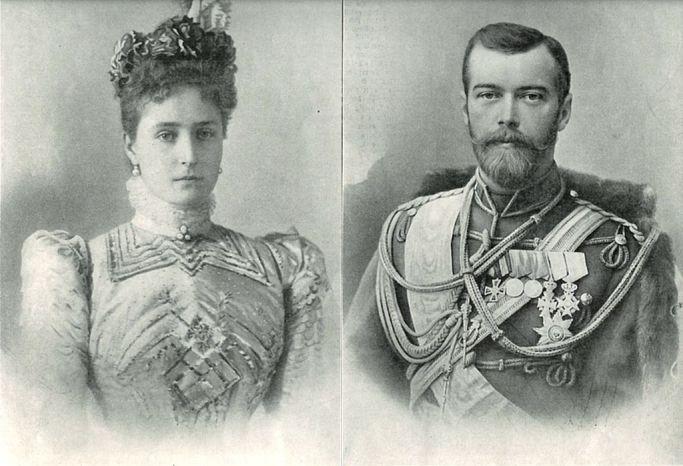 Photo_by_Bajetti_of_Empress_Alexandra_Feodorovna_&_Tsar_Nicholas_II_from_the_Illustrierte_Zeitung_-1901