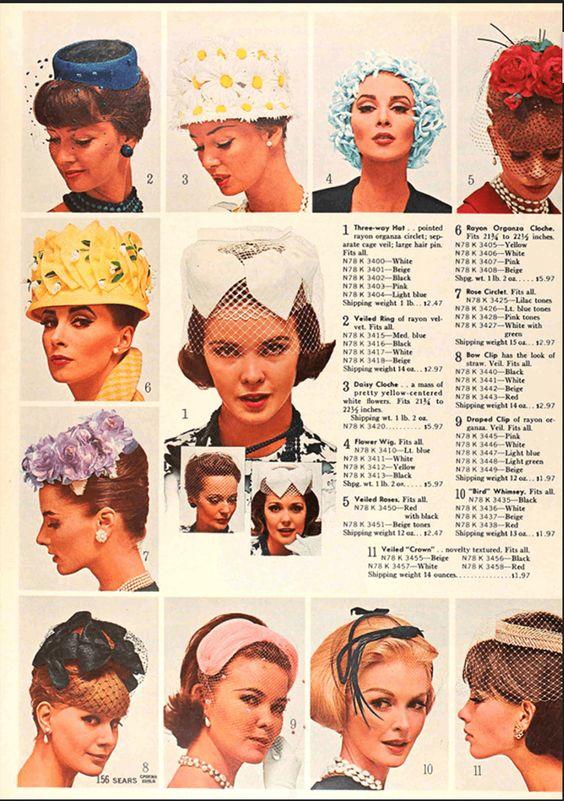 1940s Sears hats