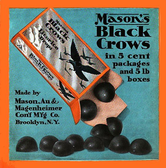 Black Crows candy