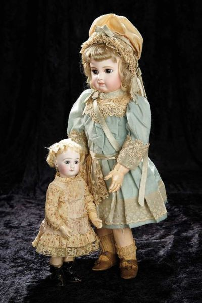 Jumeau doll with doll