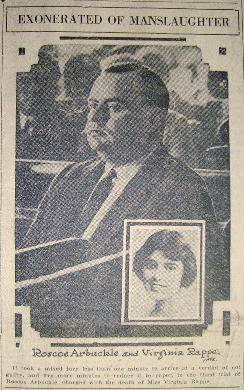 arbuckleexonerated1922