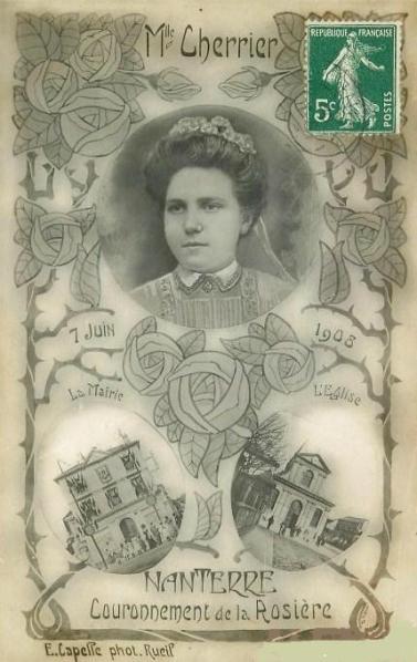 Mlle_Cherrier_-_Rosière_de_Nanterre_1908