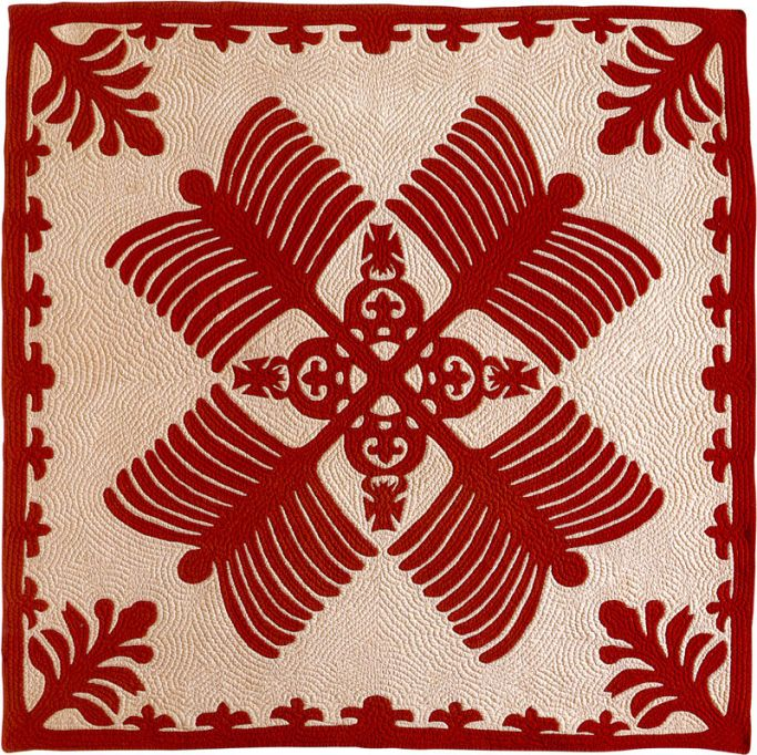 'Na_Kalaunu_Me_Na_K(-a-)hili',_quilt_attributed_to_Mary_Sophia_Rice,_c._1886,_Honolulu_Academy_of_Arts