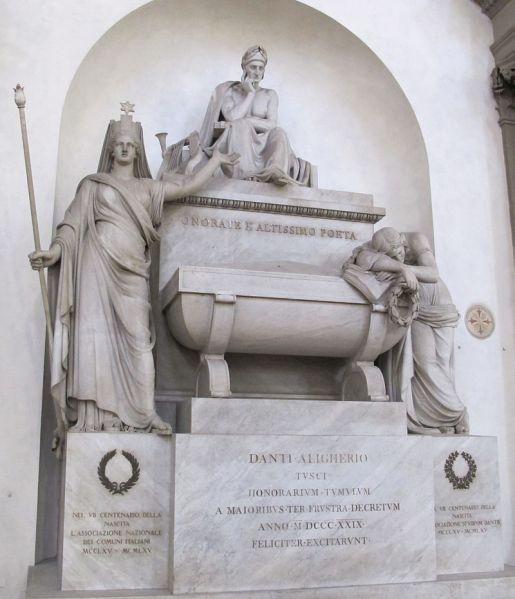 S._croce,_cenotafio_di_dante